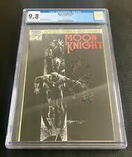 Moon Knight #25 CGC 9.8 NM/MT White Pages 1st Black Spectre,Bill Sienkiewicz Cvr
