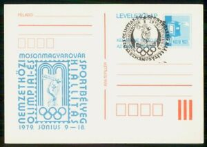 Mayfairstamps Hungary 1979 Mailbox Disc Throw Olympics Card wwk_49861