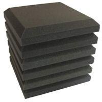 6 Pcs Studio Acoustic Foam Sound Proofing Ceiling Tile Panels Studio KTV NoiQ4U8