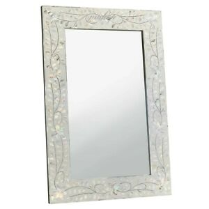 Handmade Mother of pearl Mirror Frame