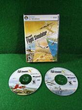 Microsoft Flight Simulator X Deluxe Edition PC Game Complete 2006 ✅