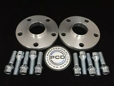 15mm VW AUDI 5x112 Hubcentric Wheel Spacers, 57.1 bore 10 TAPERED Bolts UK Made