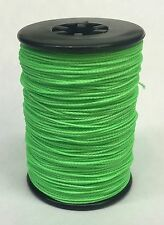 Flo Green BCY Powergrip Serving Thread Jig Spool Bow String Bowstrings .018""