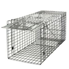 """Spring Loaded Animal Trap Easy to Bait Release Fram Rodent 32x12x13"""" Large"""