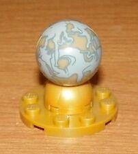 Lego 1x cylinder cylindre Hemisphere globe terrestre monde 2x2 dark tan NEUF