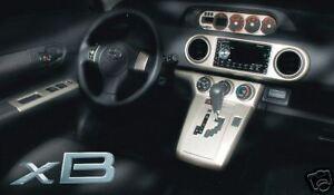 Scion xB 2008 - 2013 Dash Applique Kit - OEM NEW!