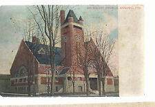 Methodist Church Kokomo In Mailed 1909 Postcard 6103