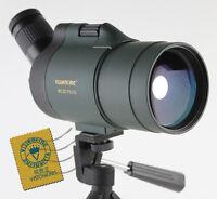 Visionking 25-75x70 Maksutov BAK4 Waterproof Spotting scope Monocular Telescope