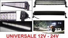 Faro CREE supplementare LED Auto,Suv,Camper,Camion,Barca 12-24V universale ip67