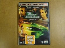 DVD / THE FAST AND THE FURIOUS ( VIN DIESEL, PAUL WALKER )