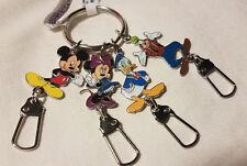 Disney Parks Mickey & Friends Keyring Divider Keychain - NEW