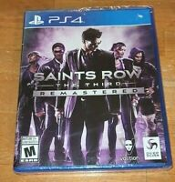 Saints Row The Third Remastered PlayStation 4 PS4 Game NEW SEALED