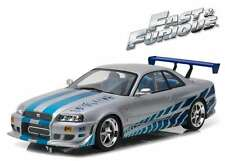 GREENLIGHT 19029 NISSAN SKYLINE GT-R R34 model car 2 FAST & 2 FURIOUS 2003 1:18