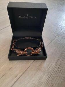 Dragon's Wrath Men's Steel & Copper Bracelet Arthritis
