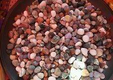 1 kg of Assorted Tumbled Stones Crystals Healing Good Luck Health Wealth