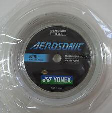 YONEX Japan Version AEROSONIC BG AS-2 200m Badminton String, 0.61 mm Super Power