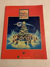 Disney's It's A Small World Holiday Song Book Piano Vocal Hal Leonard 1994