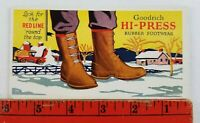 Vintage Goodrich Hi Press Rubber Footwear Boots Blotter