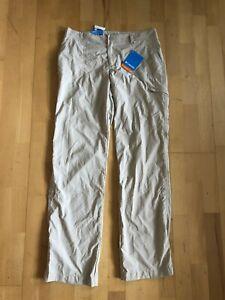 new Columbia Womens PFG Aruba Roll Up Pants Khaki Size 8