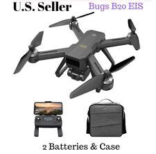 MJXR/C Bugs 20 B20 EIS 4k Camera Drone Quadcopter Brushless 2 Batteries & Case