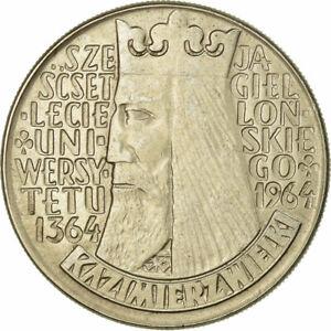 [#677851] Coin, Poland, 10 Zlotych, 1964, Warsaw, EF(40-45), Copper-nickel