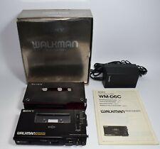 SONY WM-D6C - Walkman Cassette Player Boxed +  Manual