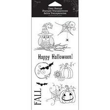 Hampton Art Halloween Stamps Set - Happy Halloween #988