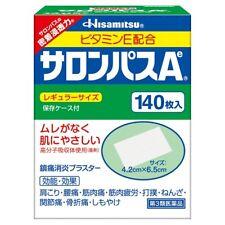 HISAMITSU Japan SALONPAS Sheets Relief Muscular Pains Aches 140pcs