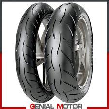 Metzeler Sportec M5 1207017 + 1805517 Set Gomme Moto Pneumatici Radiali 2019