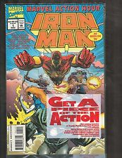 Marvel Action Hour #1 ~ Polybagged w/16-page preview ~ (9.6) 1994 WH