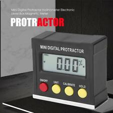 Inclinometer Digital Protractor 58x57x24mm Set Measurement LCD Practical