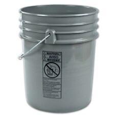 Empty 5 Gallon Plastic Bucket w/ Lid - 25 Buckets