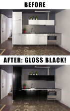 Gloss home decor vinyl wallpaper wrap film + free DIY tools choose color & size