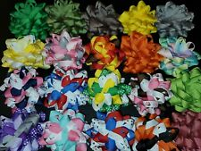 100 Pc Lot Wholesale Handmade DIY Loopy Bases For Bows BX23