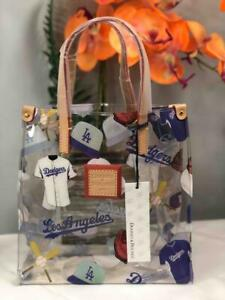 NWT DOONEY & BOURKE MLB Los Angeles Dodgers Clear Lunch Tote Bag
