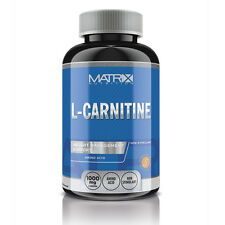 L-CARNITINE - FAT LOSS - 1000MG MUSCLE RECOVERY - 120 TABS - BY MATRIX NUTRITION