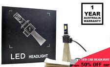 LED CAR HEADLIGHT HB4 9006 S in PAIR 60W 6400LM WHITE LIGHT PHILIPS HALOGEN BULB
