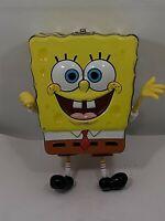 "VTG 2002 Viacom SpongeBob SquarePants ""Empty"" Small Tin #40201"
