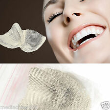 10PCS Dental Metal net Strengthen Dental Impression Trays for Upper teeth-Silver
