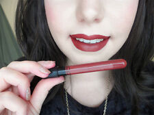 Hot Sale Dark Red Liquid Lip Gloss Matte Lipstick Lip Pen Long Lasting Makeup#33