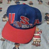 VTG Team USA National Team 1994 World Cup Soccer Apex One Hat Snapback Hat Cap