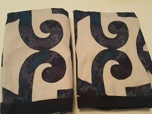 Jennifer Adams Home Collection Geometric Pattern (2 Shams)