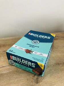 CLIF Builders Chocolate Mint Protein Bar - 68g - Pack Of 12