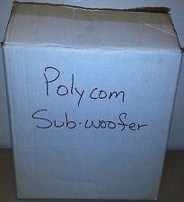 Polycom VTX-1000 Powered Subwoofer Sub Woofer AMP. Speaker System 1565-07242-001