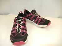 Speedo Women's Black/Pink/White Beach Comer Shoes Size US 8 EUR 39 UK 6.5