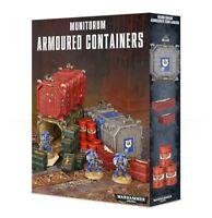 Munitorum Armoured Containers - Warhammer 40k - Brand New! 64-98