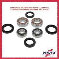 PWFWKP02530#1 Front Wheel Bearing Seal Kit Kubota Rtv 500