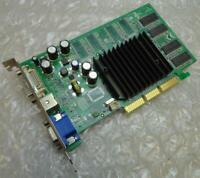 128MB Nvidia FX5200-TD128 GeForce FX5200 AGP DVI VGA Graphics Card