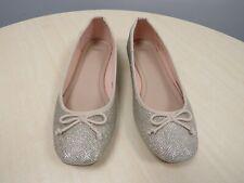 M&S ladies sparkly ballet pumps Size 5