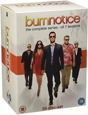 Burn Notice Komplette Serie 29x DVD NEU Staffel Series Season 1 2 3 4 5 6 7 1-7